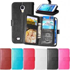 Mobiili lompakko Double Flipi Flexi Galaxy S4 Mini GT -i9190 8-kortin CaseOnline.se