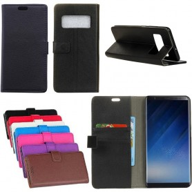 Kannettava lompakko 2 -kortti Samsung Galaxy Note 8 SM-N950F -kotelo