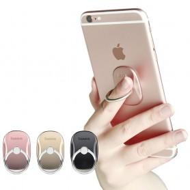 Baseus monitoimilaitteinen matkapuhelimen pidike, sormirengas, itsekiinnittyvä