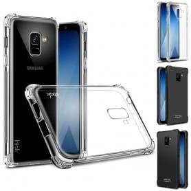 IMAK Shockproof silikonikuori Samsung Galaxy A8 Plus 2018 SM-A730 kannettava kuori