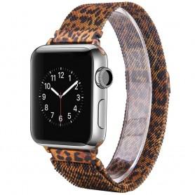 Apple Watch 4 (44) rannekoru Milanese - Leopard