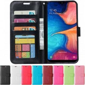 3-korttinen matkalaukku lompakko Samsung Galaxy A20e (SM-A202F)